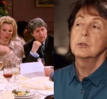 Friends : Paul McCartney devait jouer le père d'Emily au mariage de Ross !