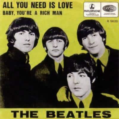 All You Need Is Love - The Beatles : les secrets de l'album (paroles, tablature)