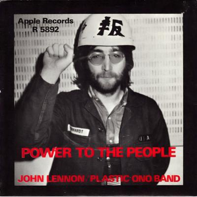 Power To The People / Open your box - Yoko Ono : les secrets de l'album (paroles, tablature)