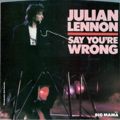 Say You're Wrong / Big Mama - Julian Lennon : les secrets de l'album (paroles, tablature)