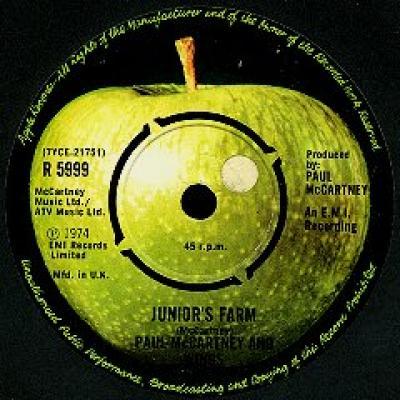 Junior's Farm - Paul McCartney : les secrets de l'album (paroles, tablature)