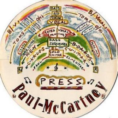 Press - Paul McCartney : les secrets de l'album (paroles, tablature)