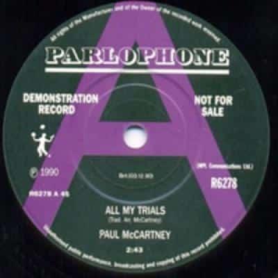 All My Trials / C Moon - Paul McCartney : les secrets de l'album (paroles, tablature)