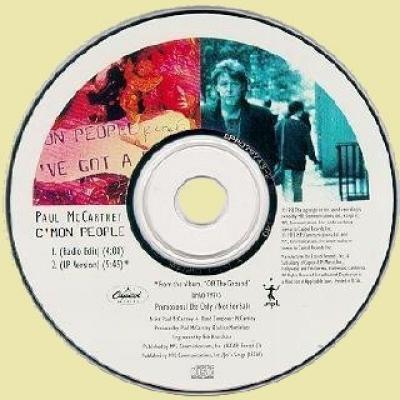 C'mon People - Paul McCartney : les secrets de l'album (paroles, tablature)