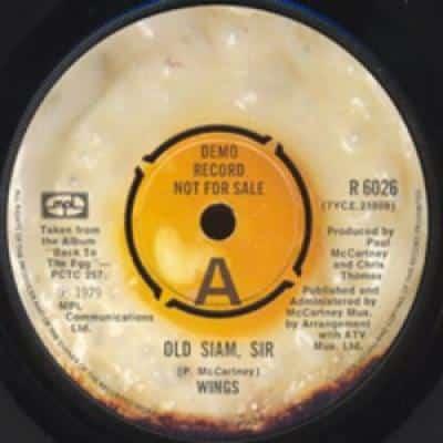 Old Siam, Sir / Spin It On - Paul McCartney : les secrets de l'album (paroles, tablature)