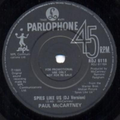 Spies Like Us (DJ Version) / My Carnival - Paul McCartney : les secrets de l'album (paroles, tablature)