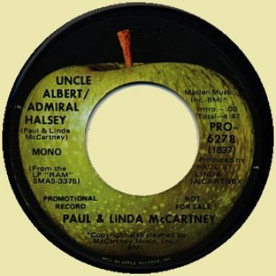 Uncle Albert - Paul McCartney : les secrets de l'album (paroles, tablature)