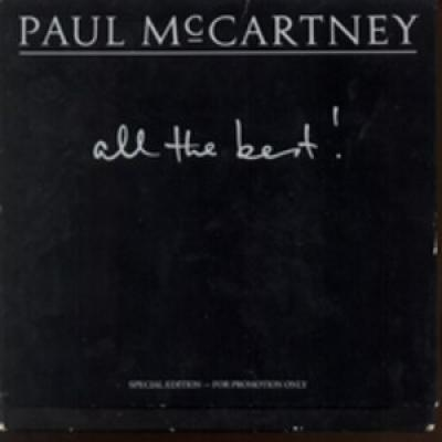 All The Best - Boxed Set - 9 Promo Singles - Paul McCartney : les secrets de l'album (paroles, tablature)