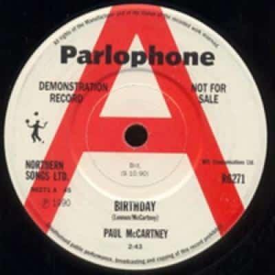 Birthday / Good Day Sunshine - Paul McCartney : les secrets de l'album (paroles, tablature)