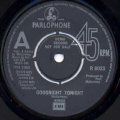 Goodnight Tonight / Daytime Nightime Suffering - Paul McCartney : les secrets de l'album (paroles, tablature)