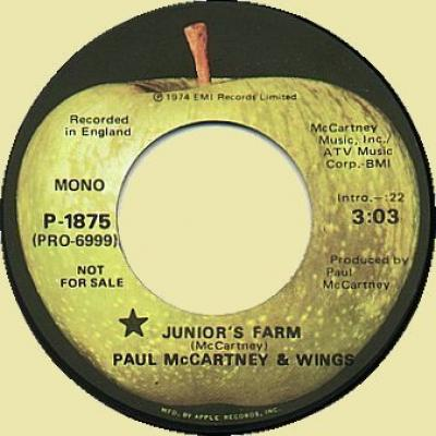 Junior's Farm - Paul McCartney : les secrets de l'album (paroles, tablature)