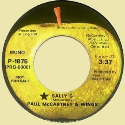 Sally G - Paul McCartney : les secrets de l'album (paroles, tablature)
