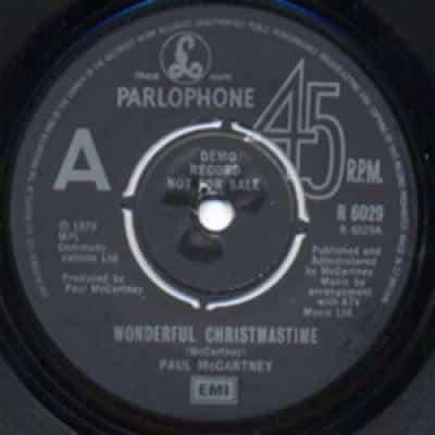 Wonderful Christmastime / Rudolph The Red-Nosed Reggae - Paul McCartney : les secrets de l'album (paroles, tablature)