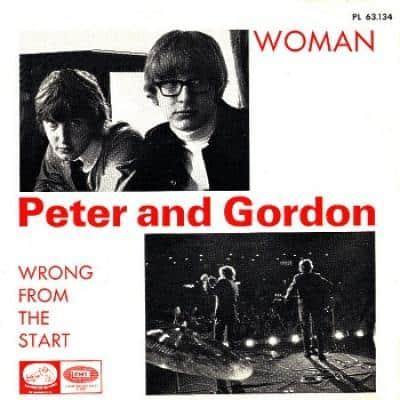 PETER AND GORDON - Woman (1966) - Les collaborations discographiques de Paul McCartney : les secrets de l'album (paroles, tablature)