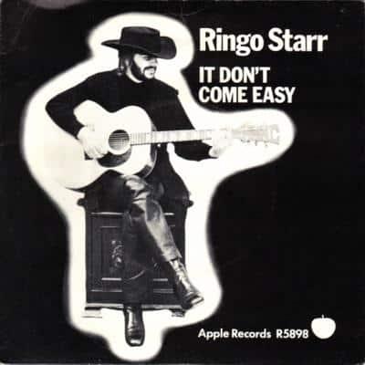 It Don't Come Easy / Early 1970 - Ringo Starr : les secrets de l'album (paroles, tablature)