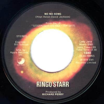 No No Song - Ringo Starr : les secrets de l'album (paroles, tablature)