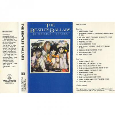 The Beatles Ballads - The Beatles : les secrets de l'album (paroles, tablature)