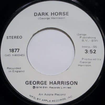 Dark Horse - George Harrison : les secrets de l'album (paroles, tablature)