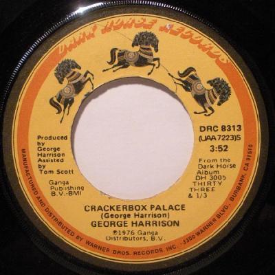 Crackerbox Palace - George Harrison : les secrets de l'album (paroles, tablature)