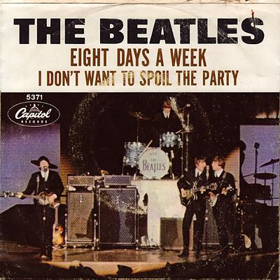 Eight Days A Week / I Don't Want To Spoil The Party - The Beatles : les secrets de l'album (paroles, tablature)