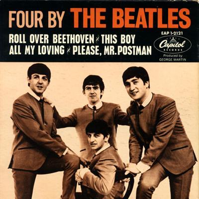 FOUR BY THE BEATLES - The Beatles : les secrets de l'album (paroles, tablature)