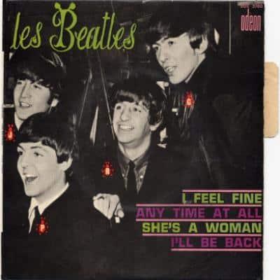 I Feel Fine / Anytime At All - The Beatles : les secrets de l'album (paroles, tablature)