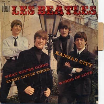 Kansas City / Words Of Love - The Beatles : les secrets de l'album (paroles, tablature)