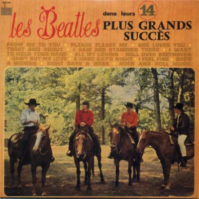 Les Beatles dans leurs 14 plus grands succès - The Beatles : les secrets de l'album (paroles, tablature)
