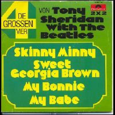 Skinny Minny / Sweet Georgia Brown / My Bonnie / My Babe - The Beatles : les secrets de l'album (paroles, tablature)