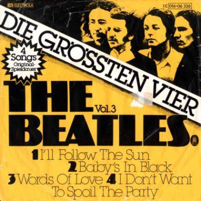 I'll Follow The Sun / Baby's In Black / Words Of Love / I Don't Want To Spoil The Party - The Beatles : les secrets de l'album (paroles, tablature)
