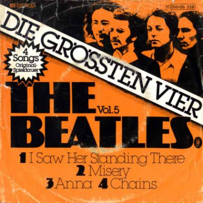 I Saw Her Standing There / Misery / Anna / Chains - The Beatles : les secrets de l'album (paroles, tablature)