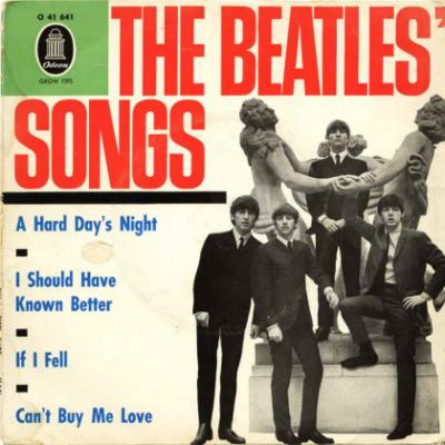 A Hard Day's Night / I Should Have Known Better / If I Fell / Can't Buy Me Love - The Beatles : les secrets de l'album (paroles, tablature)