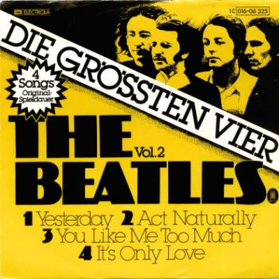 Yesterday / Act Naturally / You Like Me Too Much / It's Only Love - The Beatles : les secrets de l'album (paroles, tablature)