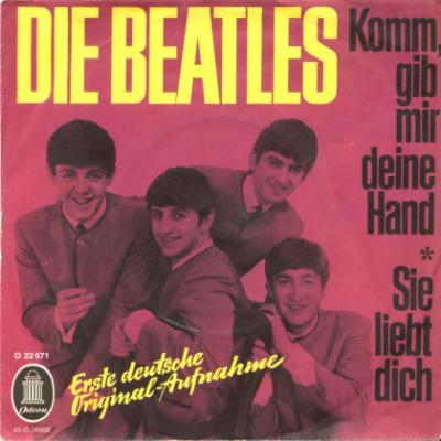 Komm, Gib Mir Deine Hand / Sie Liebt Dich - The Beatles : les secrets de l'album (paroles, tablature)