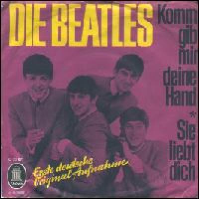 Komm, Gib Mir Deine Hand / Sie Liebt Dich - The Beatles : les secrets de l'album (paroles, tablature)