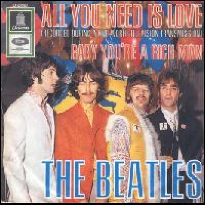 All You Need Is Love / Baby You're A Rich Man - The Beatles : les secrets de l'album (paroles, tablature)