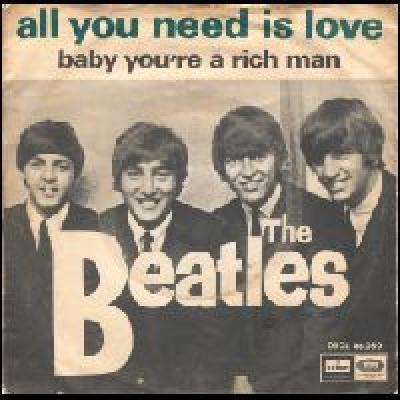 All You Need Is Love / Baby, You're A Rich Man  - The Beatles : les secrets de l'album (paroles, tablature)