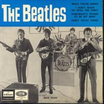 What You're Doing / I Don't Want To Spoil The Party / Everybody's Trying To Be My Baby / Every Little Thing  - The Beatles : les secrets de l'album (paroles, tablature)