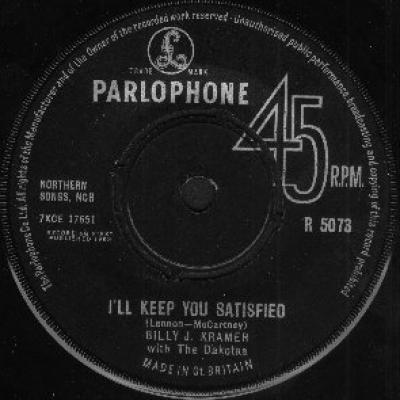 Billy J. Kramer with the Dakotas - « I'll Keep You Satisfied » - The Beatles : les secrets de l'album (paroles, tablature)