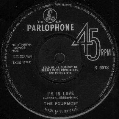 The Fourmost - « I'm In Love » - The Beatles : les secrets de l'album (paroles, tablature)