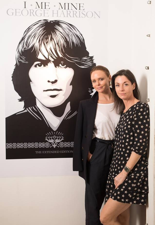 La mémoire de George Harrisson salué à la Elms Lesters Painting Rooms #georgeharrison #london