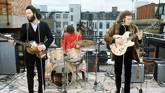 le dernier concert des Beatles - Rooftop concert