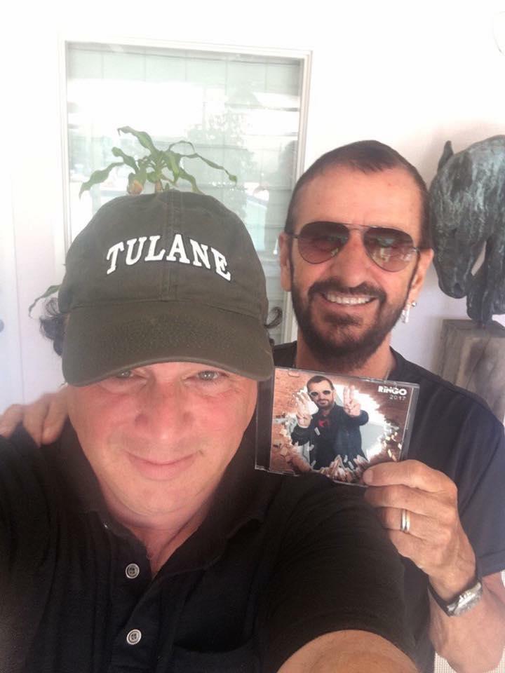 Ringo Starr dévoile le titre et la pochette de son nouvel album #ringostarr #ringo2017