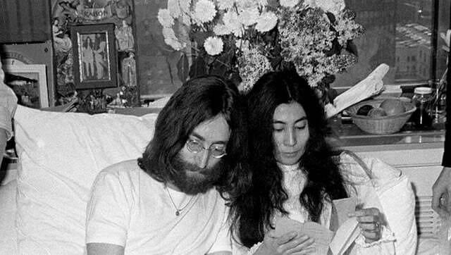 "[Revue de presse] La chanson ""Imagine"" va être créditée John Lennon-Yoko Ono #johnlennon #yokoono #imagine"