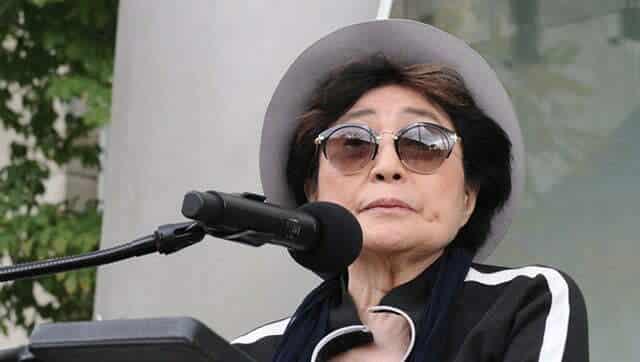 [Revue de presse] Yoko Ono reconnue co-auteure de la chanson «Imagine» #yokoono #johnlennon #imagine